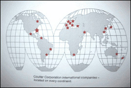 Coulter Corporation Global Locations